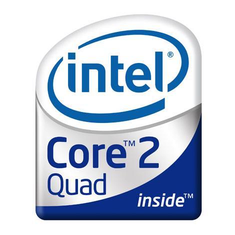 Quad Core Logo Intel Core 2 Quad